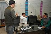 郝市長來喝茶:郝市長參觀過華西街摸乳巷後坐下來喝茶.JPG