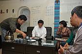 郝市長來喝茶:向市長報告附近的巷弄被佔用的問題.JPG
