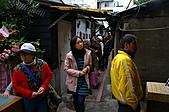 摸乳巷傳奇(二)真艋舺攝影展:攝影展摸乳巷擠的水洩不通.jpg