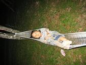坪林黑龍潭露營區:躺在吊床上的妙咩