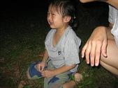坪林黑龍潭露營區:妙咩從吊床上掉下來哭哭了