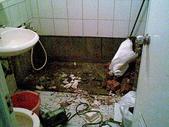 未分類相簿:拆浴缸