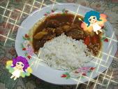 食物:咖哩牛肉燴飯