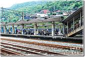 褪了色的黑金小鎮_侯硐:火車站月台