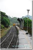 平溪_望古車站:火車由平溪方向進站