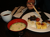 四天以來..京都飯店早餐:日式早餐.JPG