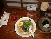 Day1-京都車站內伊勢丹10F 拉麵小路-寶屋拉麵:寶屋拉麵和飯糰.JPG
