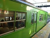 Day1-搭地鐵到奈良伏見稻荷:奈良線的地鐵.JPG