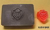 3000元贈品區~皂章、矽膠模:心草莓-2