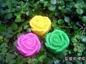 3000元贈品區~皂章、矽膠模:立體玫瑰(2)一個