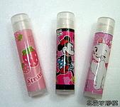 美麗彩衣護唇膏管:草莓.米妮.貓