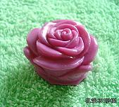 3000元贈品區~皂章、矽膠模:立體玫瑰矽膠模