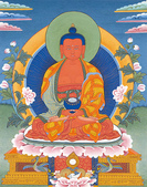 藏傳藝術:阿彌陀佛