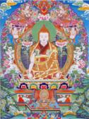 藏傳藝術:龍欽巴尊者