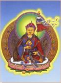 藏傳藝術:蓮師財神