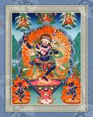 藏傳藝術:獅面空行母