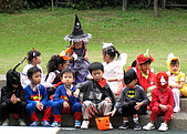 2009 萬聖節搞怪秀:章魚中班的小朋友們,超可愛的!