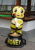 清境-夏都夢幻山林二日遊:造紙龍園內還有展示蜜蜂與販售蜂蜜哦~