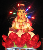 2010 台北燈節 參觀去:作品名稱:花開富貴平安福