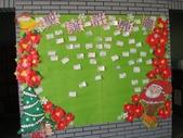 98年圖書館週系列活動:聖誕許願牆