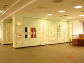 圖書分館  香取潤哉書法展  2007.04.09:02)展場之二