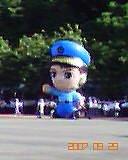 2007 桃園/台北:Q版警察公仔