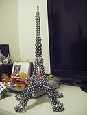 艾菲爾鐵塔串珠:調整大小 DSCF3616.JPG