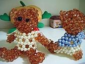 泰迪熊串珠成品:調整大小 DSCF1645.JPG
