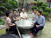 20050424北斗聚會:花園裡聊天