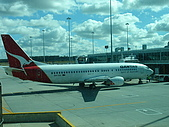 澳洲蜜月2007-10-4~10:澳洲航空。。。