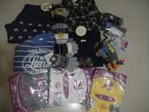 岍岍三歲二個月(3Y2M):DSC05866--謝謝阿嬤帶了一大堆的衣服回來給岍.JPG