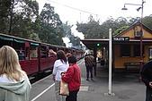 澳洲蜜月2007-10-4~10:搭蒸氣火車囉~~懷舊吧!