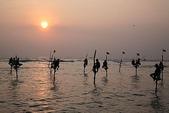 斯里蘭卡(風景篇):立竿漁夫