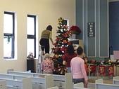 2009聖誕:大家一起動手來佈置002
