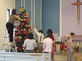 2009聖誕:大家一起動手來佈置001