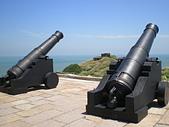 聖恩堂2008年暑期旅遊-馬祖東莒島:二級古蹟東犬燈塔007-昔日鎮守燈塔的火炮