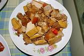 聖恩堂的家常菜:肉角炒豆干.JPG