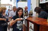 葡萄牙 奧比多斯-辛特拉皇宮-洛卡岬 (歐洲極西點):櫻桃酒+巧克力做成的杯子 不錯喝!