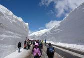 日本旅遊選集:立山黑部雪牆