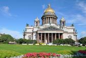 聖彼得堡 浪漫的凱薩琳宮 - 市區:聖以薩克大教堂