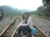 第六次的平溪:坐在鐵軌的感覺真好~