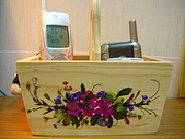 壓花作品區:多功能置物小木盒