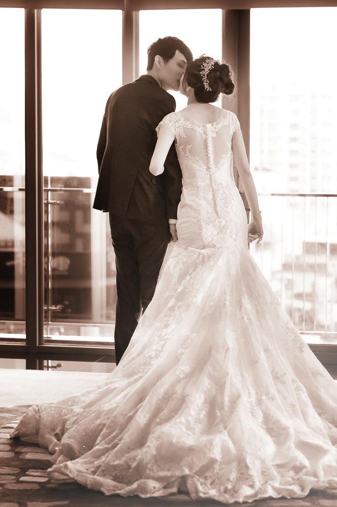 新竹婚攝,愛就是隨時親一下
