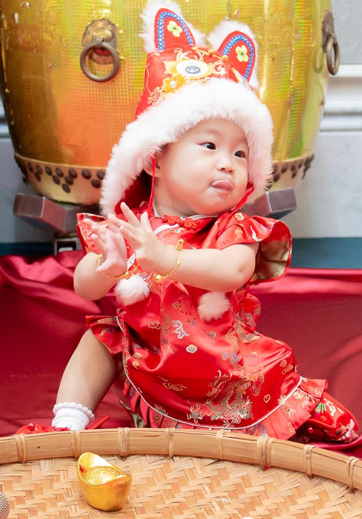 台北寶寶抓週,東方文華抓週,親子寫真,全家福