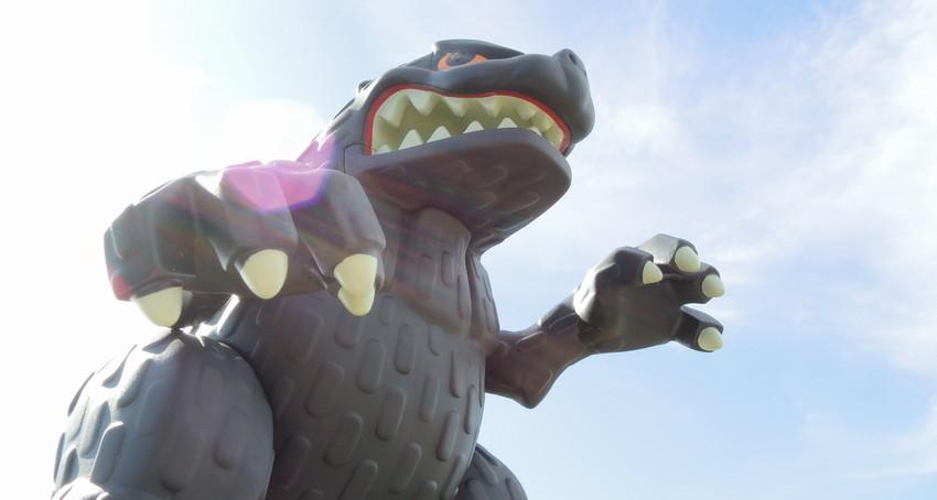 萬代 Q版軟膠 GODZILLA TOKYO VINYL:01.JPG