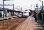 西部幹線:斗六舊站月台,2000.2.11