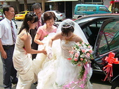 950624 Jerry&Jinna 結婚照片:新娘子下車囉