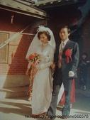 Jinna 家人結婚照片:爸爸從外婆家把媽媽娶走啦~!