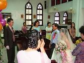 950624 Jerry&Jinna 結婚照片:父親親自牽著女兒的手,交給女婿
