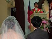 950624 Jerry&Jinna 結婚照片:徐世昭神父勉勵新人